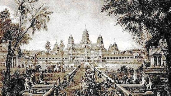 a look at the mon and khmers in the great hindu buddhist kingdom in cambodia A concise history of southeast asia mon-khmers, tibeto-burmans and the natives were not willing to give up the hindu-buddhist-animist combination they had.