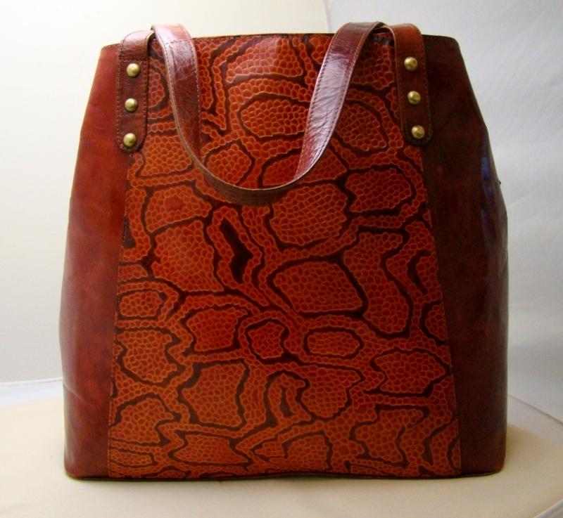 Женские сумки из кожи слона