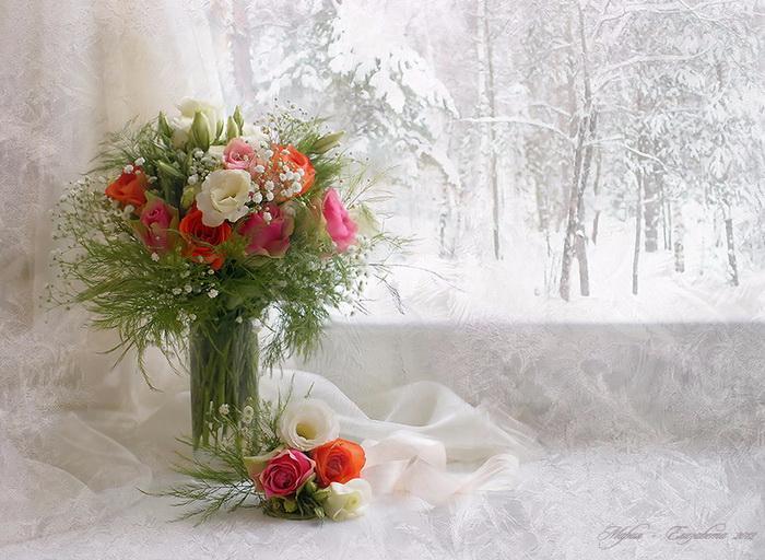 Зимний день рождения стихи